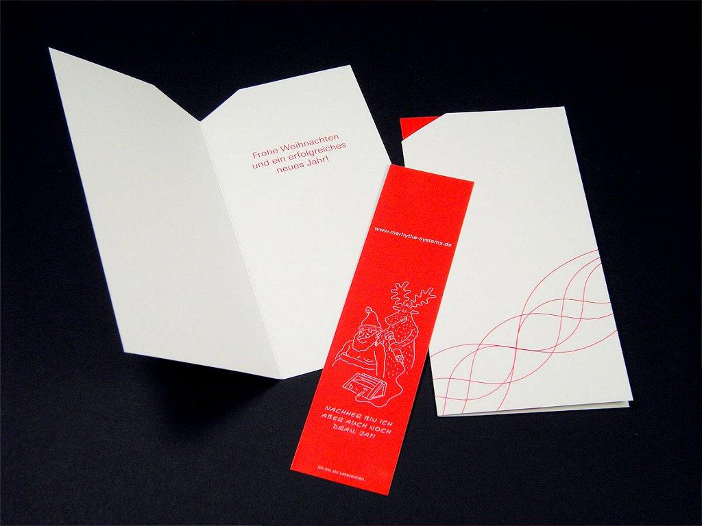 Weihnachtskarte für MaRhyThe-Systems