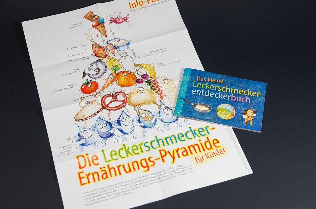 Leckerschmecker-Ernährungs-Pyramide